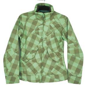 Salomon Soft shell Jacket Green Size Small